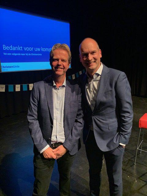 Collegetour Met Gert-Jan Segers In Leiden Op Maandag 11 November 2019.